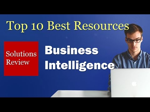 The 10 Best Resources: Business Intelligence