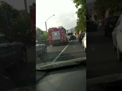 Incidente Campora San Giovanni (Amantea) - CS del 23 giugno 2017