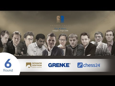 Round 6 - 2018 GRENKE Chess Classic - Live commentary