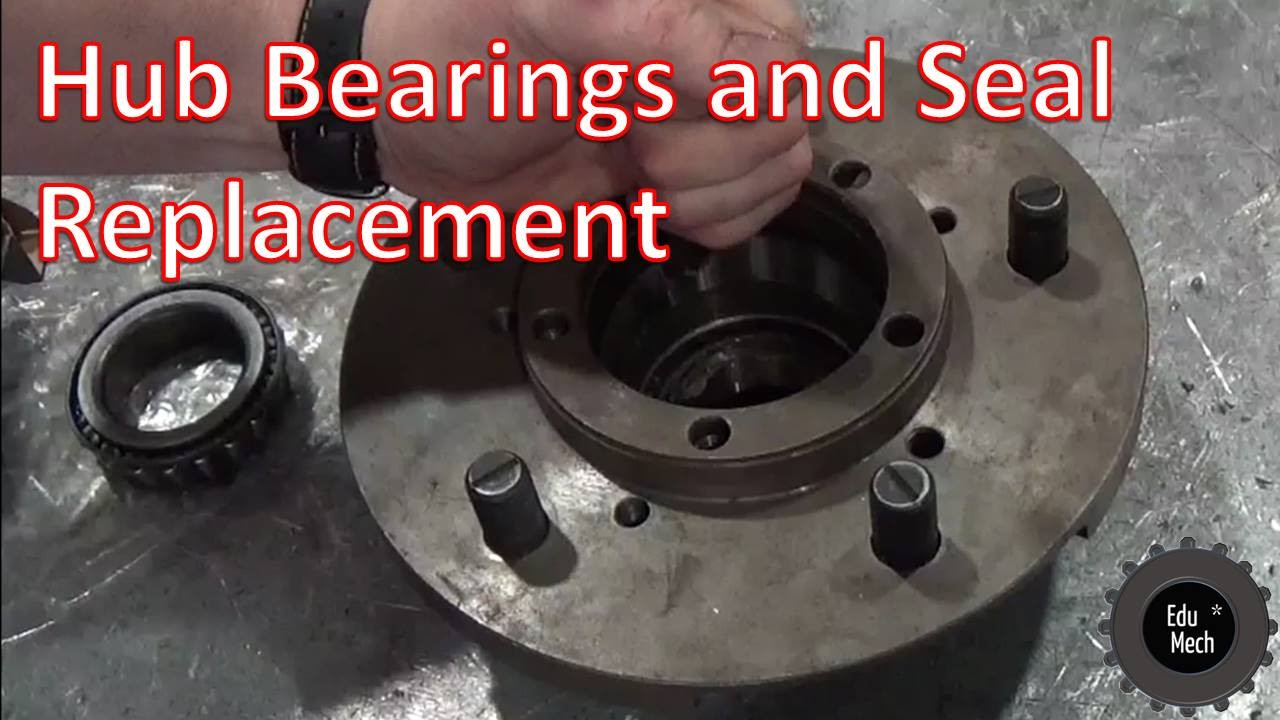 hub bearing and seal replacement land rover defender 1998 onwards 90 110  [ 1280 x 720 Pixel ]