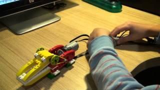Tutorial Scratch y Lego WeDo: Cocodrilo