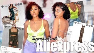 AMAZING AliExpress summer clothing TRY-ON haul   All UNDER $15   cassiekaygee