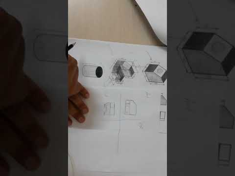 Engineering drawing (isometric 1)