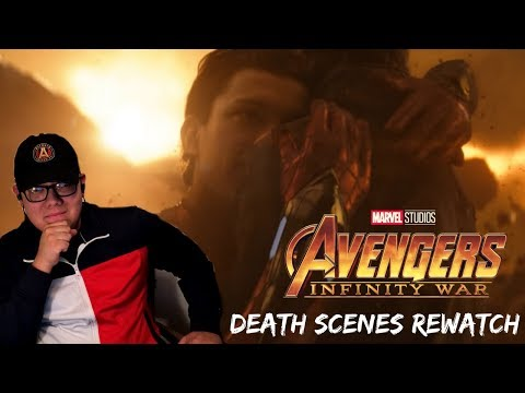 Avengers: Infinity War Death Scenes EMOTIONAL REACTION - Fair Use