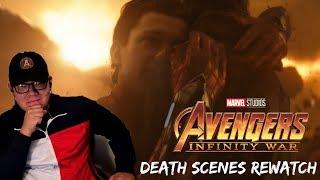Avengers: Infinity War Death Scenes EMOTIONAL REACTION - Fair Use