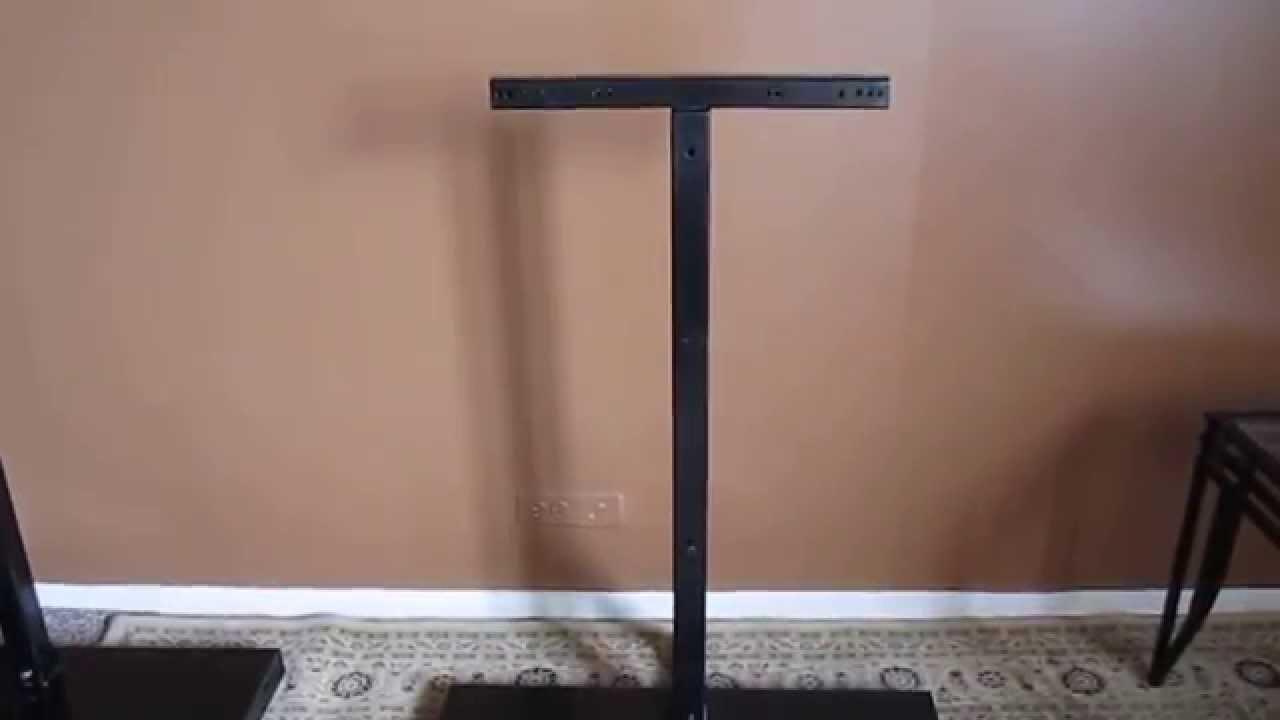 JB Flat Screen Tv Stand / Display Over All Viewing Telescopic And  Adjustable 27u0027 65u0027 TVu0027s Video   YouTube