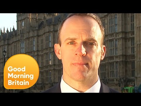 Minister Dominic Raab Calls the Brexit Bus 'Sloppy' | Good Morning Britain