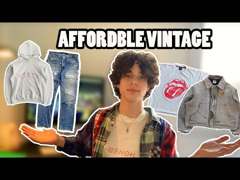 How To Shop Vintage ONLINE! Affordable Vintage Streetwear