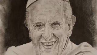 DRAWING POPE FRANCIS!!