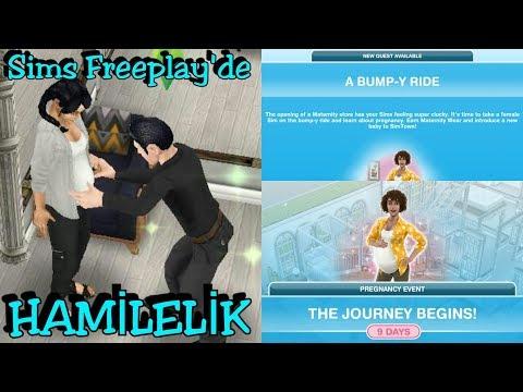 [The Sims Freeplay] - Hamilelik Evresi🤰(A Bumpy Ride Görevi , Pregnancy Event)