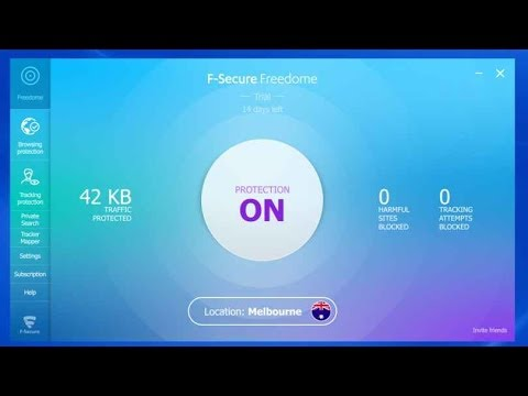 [2019] F-Secure VPN Trial Reset/Perma Full Version/Patch