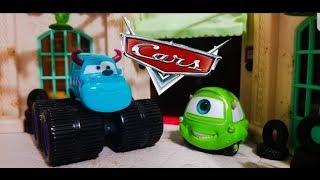 Disney Cars 2007 Mike & Sully | Mattel Supercharged (Movie Moments) Diecasts!