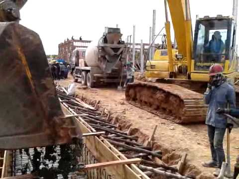 115/22 KV Substation Ban Nongdeun Project ( Pouring c