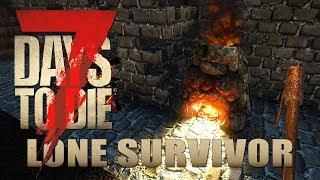 Es brennt der Zement  | Lone Survivor 019 | 7 Days to Die Alpha 17 Gameplay German Deutsch thumbnail