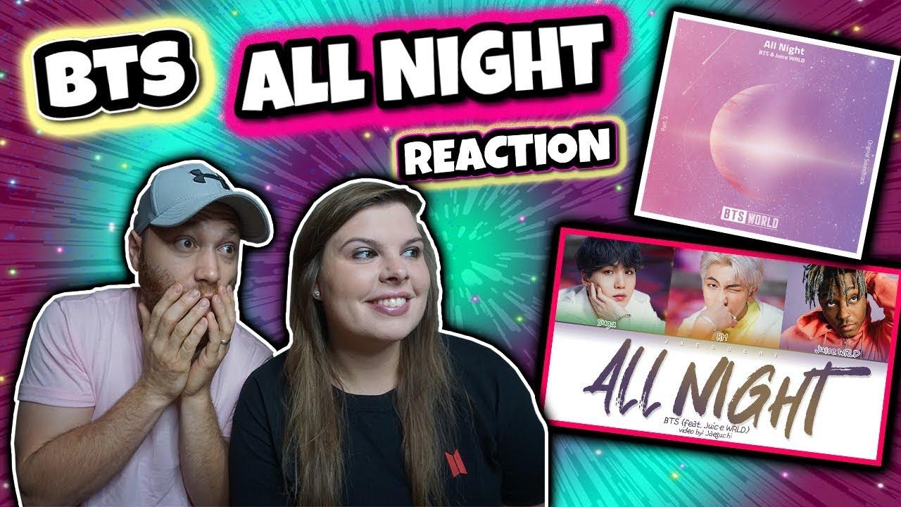BTS - All Night (Feat  Juice WRLD) (방탄소년단 - All Night