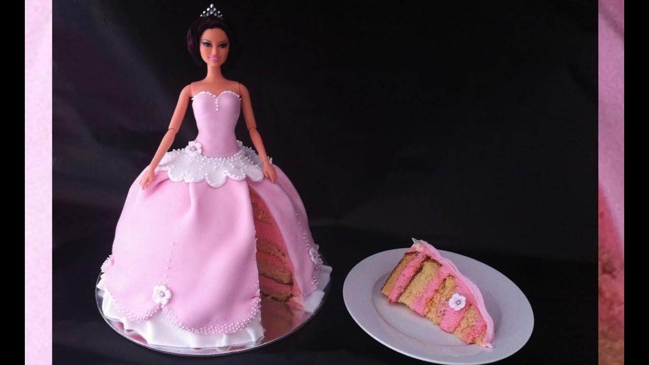 Princess Cake How To Make Princess Birthday Cake How To Cook That