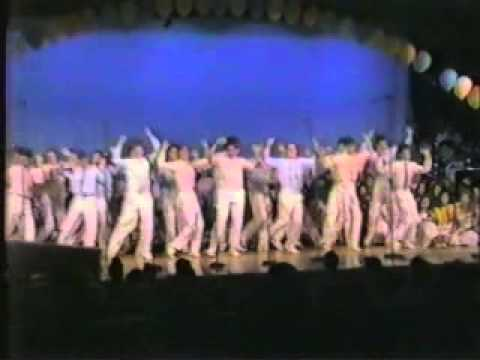 "Sterling Heights High School Spring Choir Concert 1989 - ""Blue Suede Shoes"""