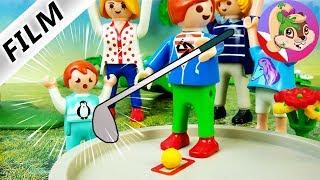 Playmobil Rodzina Wróblewskich | Wypadek podczas gry w mni golfa