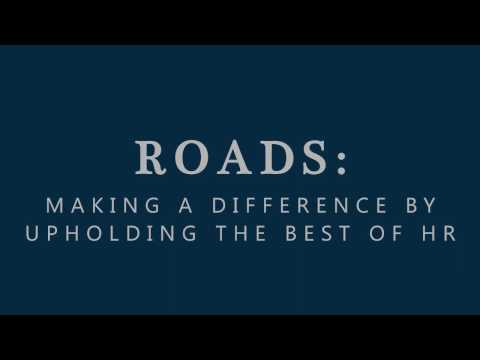 ROADS: Making a Difference by Upholding the BESt of HR - Sponsors