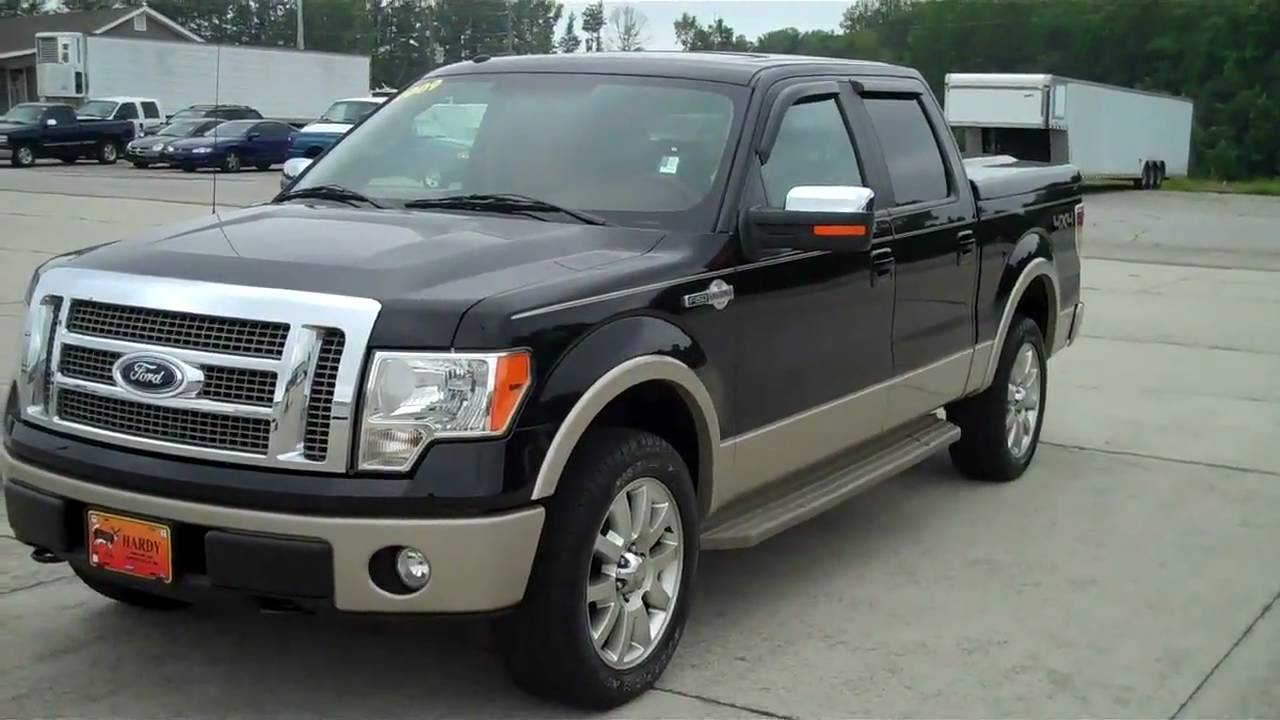 2009 ford f 150 king ranch hardy superstore 678 392 9348 youtube. Black Bedroom Furniture Sets. Home Design Ideas