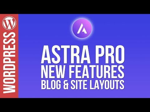 Wordpress: Custom Blog Pages with Astra Pro Theme! - 동영상
