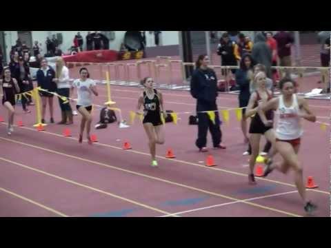 CMU Open 800m Heat 1 (W) 01-11-2013