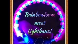 Rainbow loom Light Show Bracelet