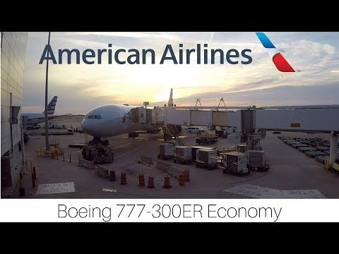 Trip Report | American Airlines | Dallas/Fort Worth - London | Economy | Boeing 777-300ER