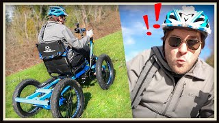 Life-Changing Experience On The NotAWheelchair!  (electric off road wheelchair)