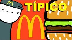 COSAS QUE SEGURO QUE TE PASAN EN McDonalds  | TIPICO 7 (ft.PabloAnima)