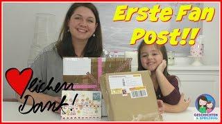 Erstes Fanpost Video ✉️ 📦 Herzlichen Dank!! 💕 Geschichten und Spielzeug Familienkanal