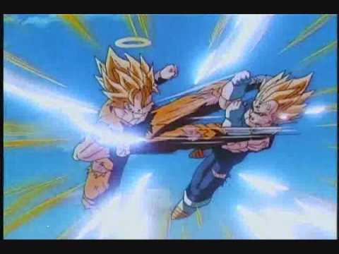 Dragon ball z amv goku and vegeta time of dying - 4 3
