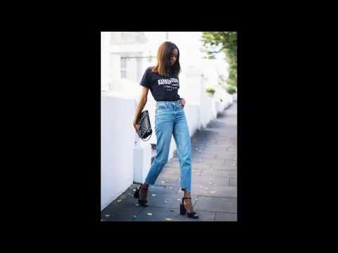 Women's denim jeans, skirts & shorts outfits 2019