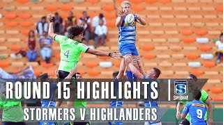 ROUND 15 HIGHLIGHTS: Stormers v Highlanders - 2019