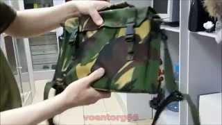 Обзор сумки под планшет/нетбук  армии Британии