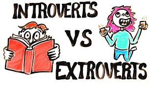 Repeat youtube video Introverts vs Extroverts