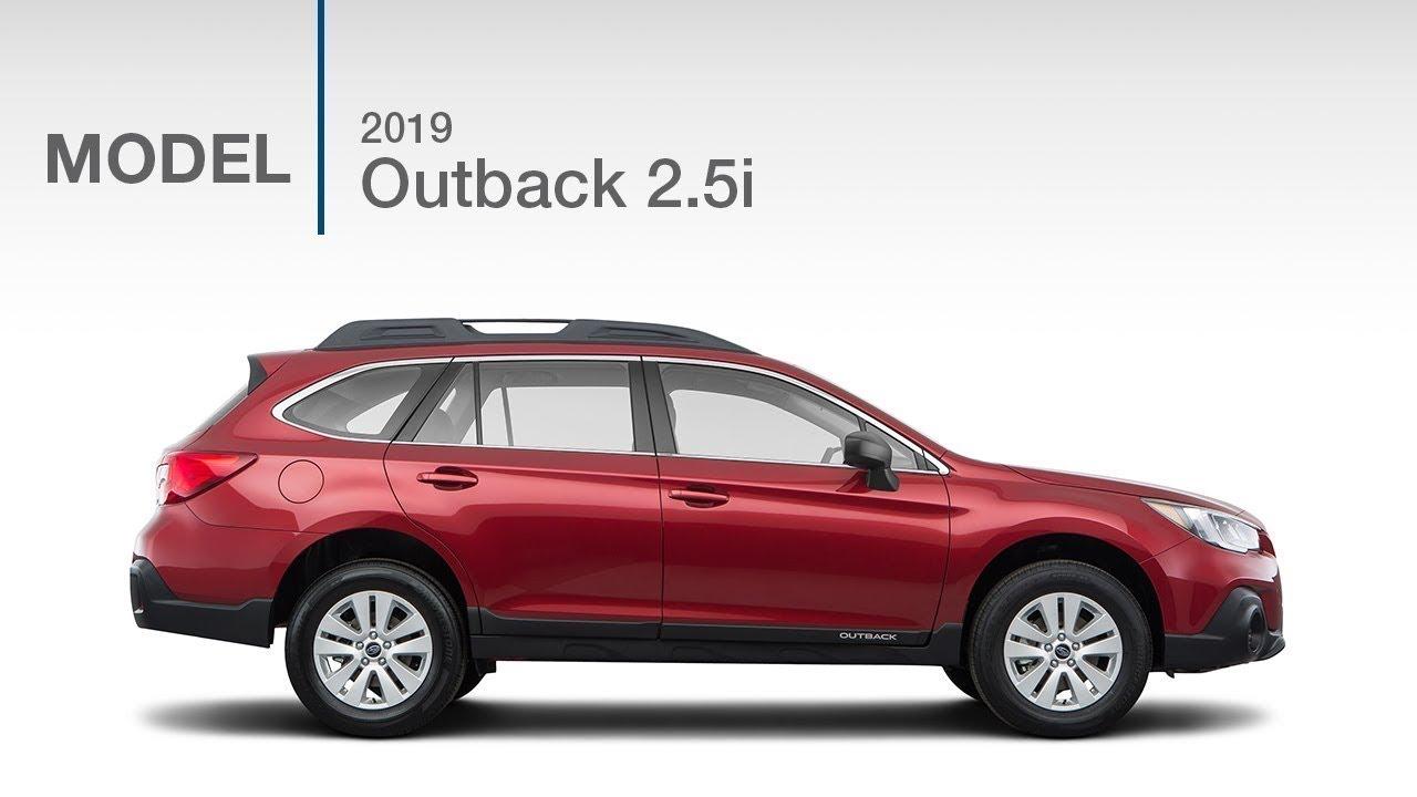 2019 Subaru Outback 2 5i Base Model Review