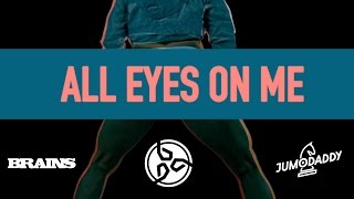BRAINS feat. JUMODADDY - ALL EYES ON ME (OFFICIAL LYRICAL VIDEO)