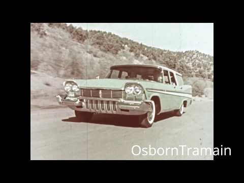 1957 Plymouth Suburban Commercial - COLOR HD