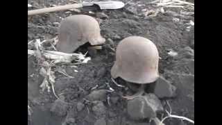 WW2/Коп по Войне.Раскоп немецких касок!