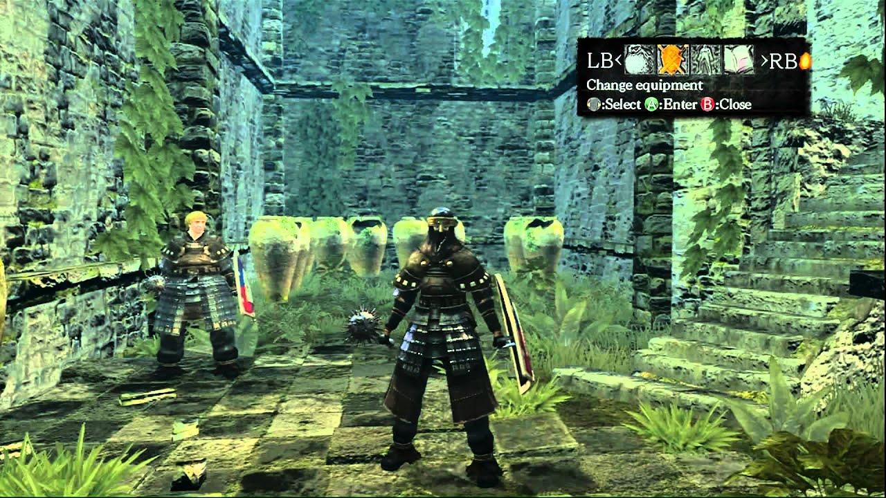 dark souls how to get kirks armor set