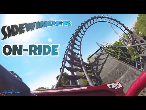 Sidewinder On-ride Front Seat (HD POV) Hershey Park