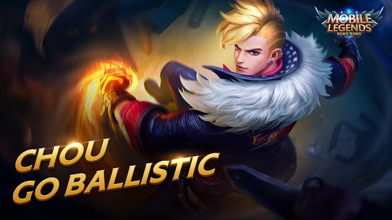 Chou New Skin | Go Ballistic | Mobile Legends: Bang Bang! - YouTube