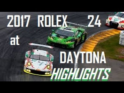 2017 ROLEX 24 Hours of Daytona HIGHLIGHTS