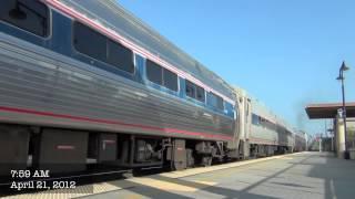 HD- Amtrak and Metrolink around Southern California