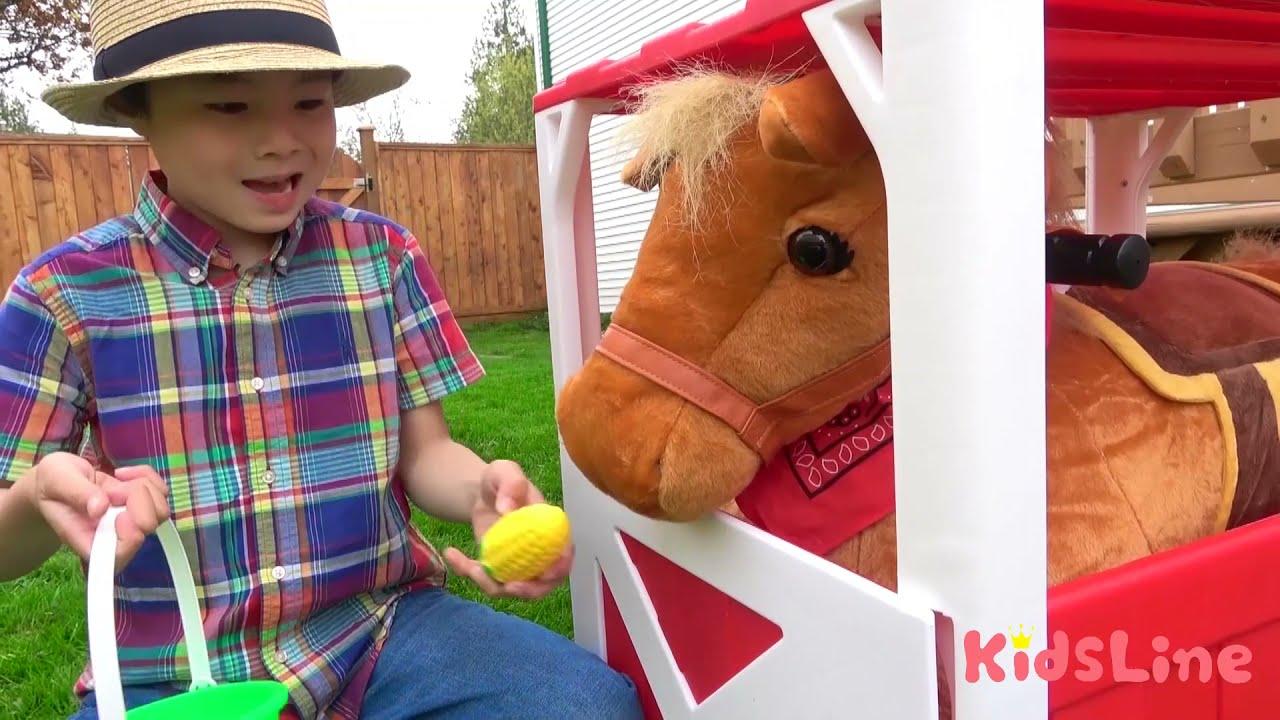 Old MacDonald Nursery Rhymes & Kids Song - KidsLine 英語のうた