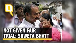 Justice Was Not Served: Shweta Bhatt, Wife of Ex-IPS Officer Sanjiv Bhatt