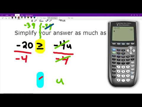 Solving a two-step linear inequality: Problem type 2