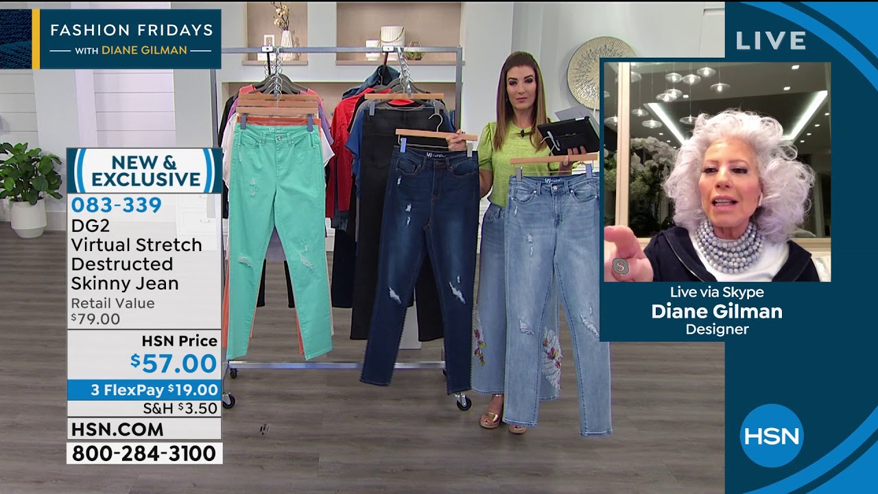 Dg2 By Diane Gilman Virtual Stretch Destructed Skinny Je Youtube