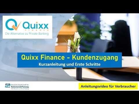 Quixx Anleitung